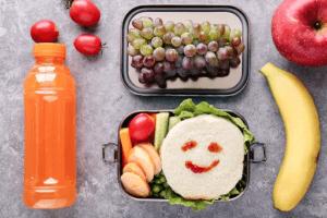 Les lunch box de qualité peuvent contenir différentes nourritures