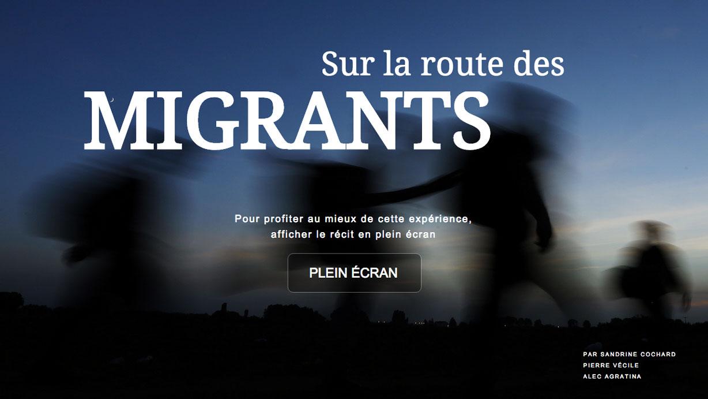 Sur la route des migrants