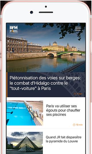 Application BFM Paris